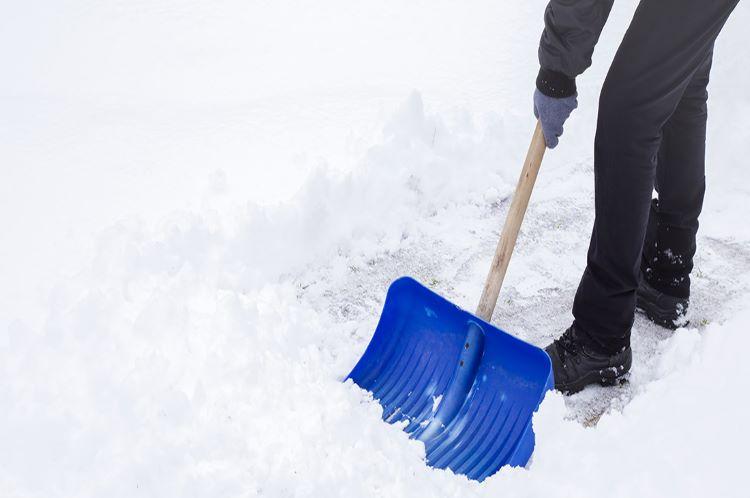 Hand Shovel Walkway Prackos Landscaping